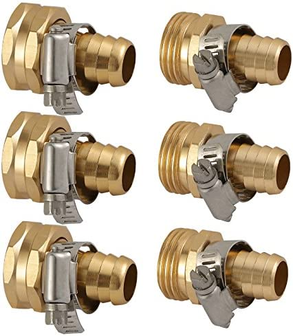 OurRich Garden Hose Repair Mender Stainless Connector product image
