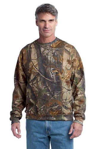 Russell Outdoors Realtree Crewneck Sweatshirt-S (Realtree AP)