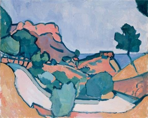 oil-painting-road-in-the-mountains1907-by-andre-derain-8-x-10-inch-20-x-25-cm-on-high-definition-hd-