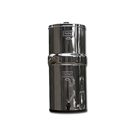 big berkey water filter2 black filters and 2 pf2 fluoride filters