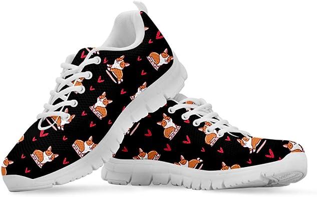 Coloranimal Bull Terrier - Zapatillas de Running para Mujer ...
