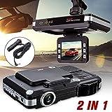 2 in 1 Black LCD Screen Car DVR Night Vision Camera Recorder...