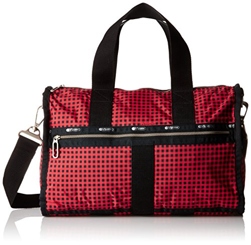 LeSportsac Women's Essential Small Weekender, Happy Check by LeSportsac