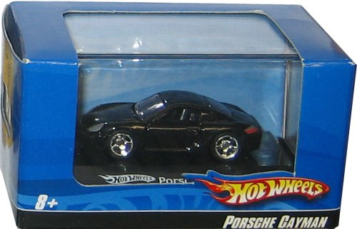 Hot Wheels Porsche Cayman 1:87 Scale with Display Case
