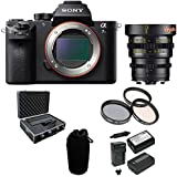 Sony Alpha a7SII Mirrorless Digital Cam, Veydra 25mm T2.2 E-Mount Lens Bundle