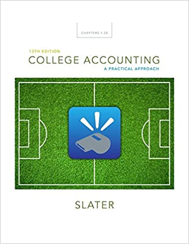 College Accounting: A Practical Approach