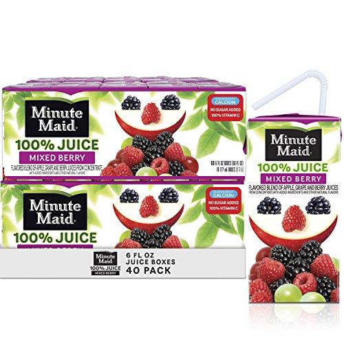 ed Berry Juice, 6 fl oz Juice Box, Pack of 40 ()