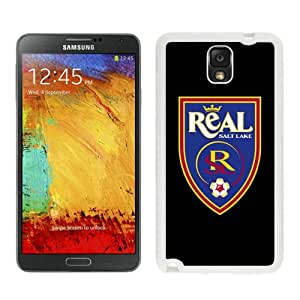 Fashionable And Antiskid Designed MLS Real Salt Lake Samsung Galaxy Note 3 N900A N900V N900P N900T Case Cover 04 White