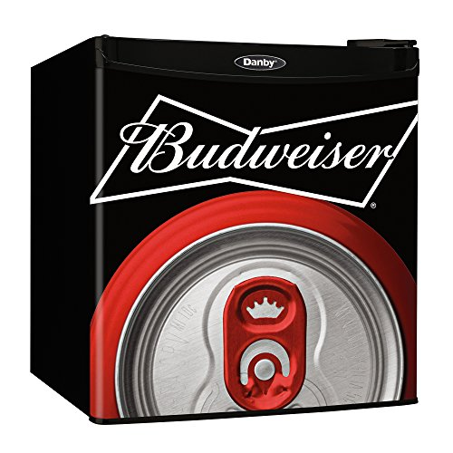 Danby Budweiser Beer Compact Refrigerator Dorm Home Beverage Cooler Mini Fridge