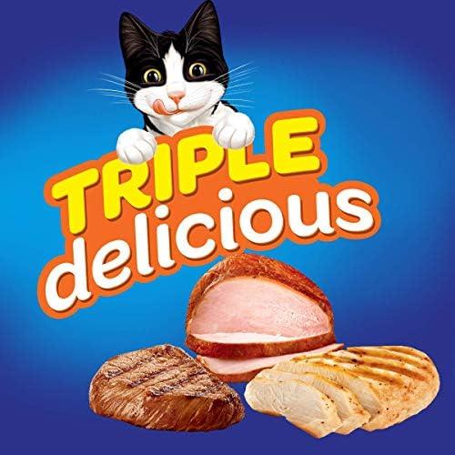 Felix Croquetas para Gato, Triple Delicious, Granja, 1.5Kg 4
