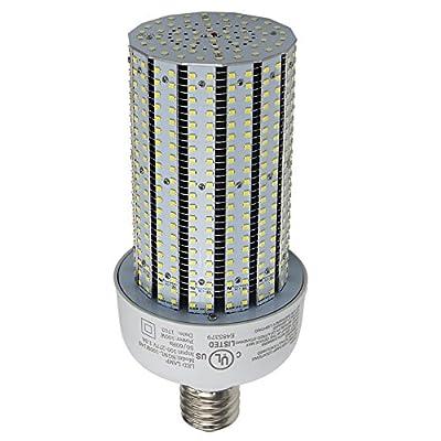 NGTlight AC90-277V,100 Watt LED Corn Cob Light Replace 400W Metal Halide,E39 Mogul Base 6000K Daylight 13442Lm,Used in Parking Lot/Street/Wall Pack Fixtures/High Bay Fixture