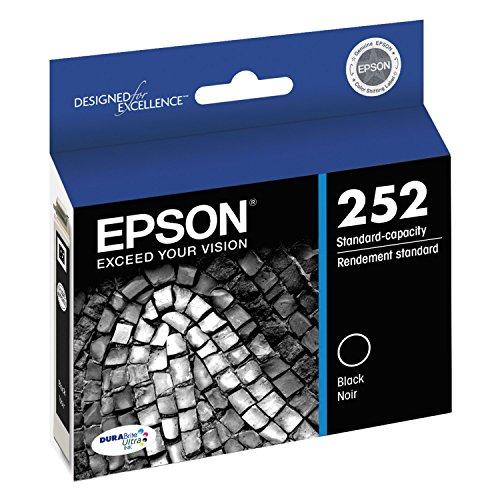 EPSON AMERICA T252120 T252 DuraBrite Ultra Black Ink (Epson Ink T252)