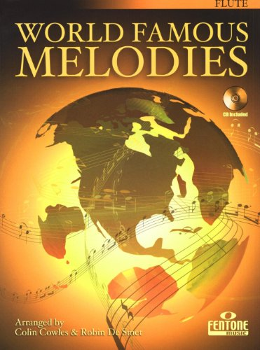 World Famous Melodies Book With CD Flute Play-Along Book/CD -