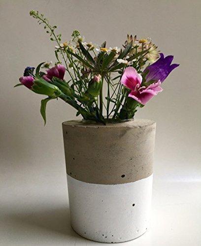 Vase Beton 11 cm Ø 'white'
