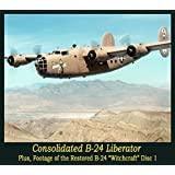 Air Force Consolidated B-24 Liberator WW2 Big Bomber old Films DVD