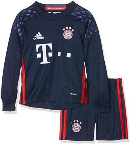 Adidas Goalkeeper Kit (2016-2017 Bayern Munich Adidas Home Goalkeeper Mini Kit)