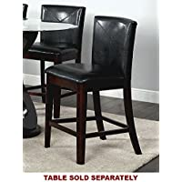 247SHOPATHOME Idf-3774PC Dining-Chairs, Espresso
