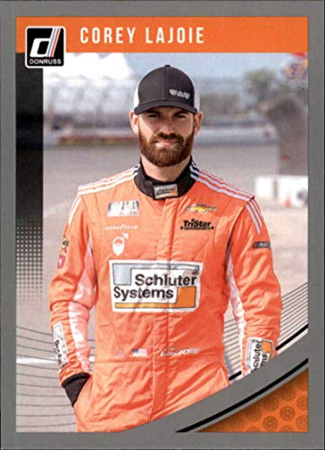(2019 Donruss Silver #27 Corey LaJoie Schluter Systems/TriStar Motorsports/Chevrolet Racing Trading Card)