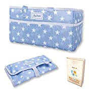 Baby Diaper Caddy Organizer & Changing Mat – Nursery Storage Bin for Baby Items from Polyester – Portable & Modern Storage Basket - Suitable for Car Travel Picnic & Nursing Station