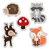 Woodland Creatures - DIY Shaped Baby Shower or Birthday Party Cut-Outs - 24 Count