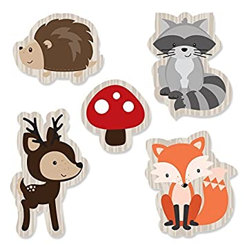 Woodland Creatures   DIY Shaped Baby Shower Or Birthday Party Cut Outs   24  Count