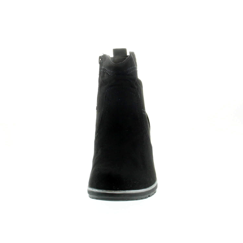 Jana Damen Stiefeletten Woms Stiefel 8-8-26371-21 001 schwarz schwarz schwarz 522559 9753b4