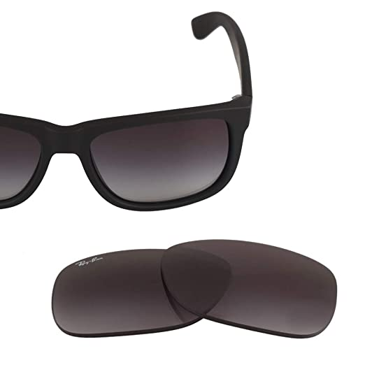 Amazon.com  LenzFlip Lenses Compatible with Ray Ban JUSTIN RB 4165 ... d8e0491de5e
