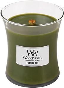 WoodWick Frasier Fir Medium Candle,10 Oz.