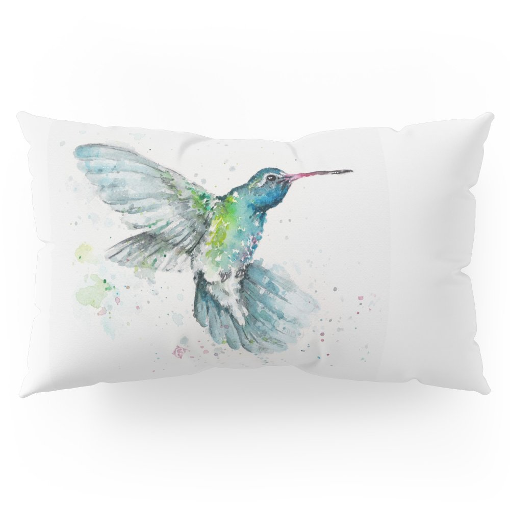 Society6 Hummingbird Flurry Pillow Sham King (20'' x 36'') Set of 2
