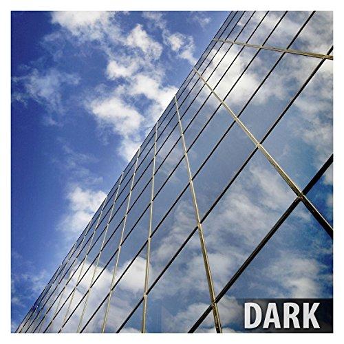Glazed 2 Doors - BDF RPRGY Window Film Premium One Way Mirror Privacy Silver/Gray (Very Dark) - 24in X 9ft