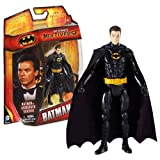 grapple hook gun - Mattel Year 2013 DC Comics Multiverse Series 4 Inch Tall Action Figure - Unmasked Variant BATMAN (Michael Keaton) with Grappling Hook Gun