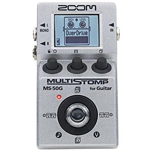 Zoom MS50G MultiStomp Guitar Pedal (Renewed)
