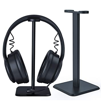 SKYEE Soporte Auriculares en el Escritorio, Universal Headset Stand y Soporte de Cascos en Mesa