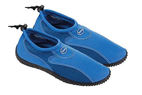 fashy® Damen und Herren Outdoor Sport- und Schwimmschuhe Aquaschuhe aus Neopren und Mesh mit TPR-Sohle - Made In Germany