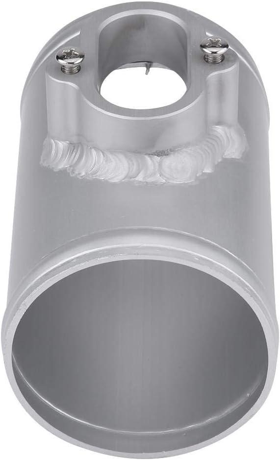 KIMISS Aluminiumlegierung Luftmassenmesser MAF Sensor Lufteinlass Meter Halterung 70 76mm 70MM