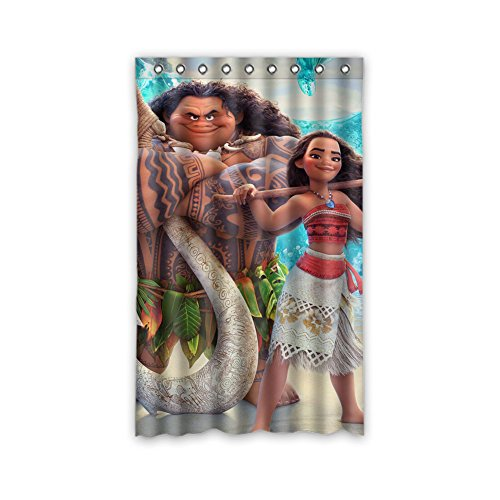 Moana and Maui Kids Window Panels