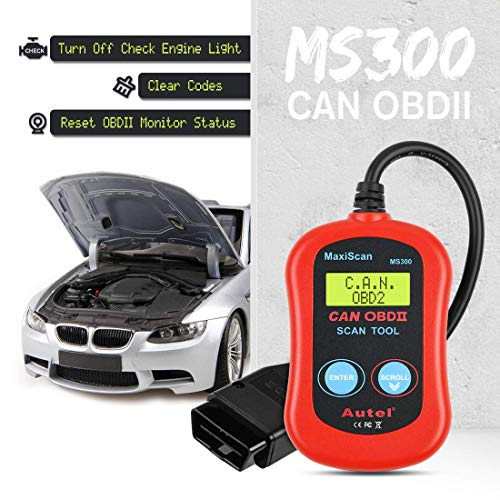 Autel MS300 OBD2 Scanner Diagnostic Code Reader, Read and