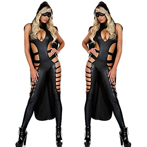 Club Body Latex Night Vestito Costume Club Catwoman Sexy XSQR Gatta Tuta Wear Stretti gRnwqCCP