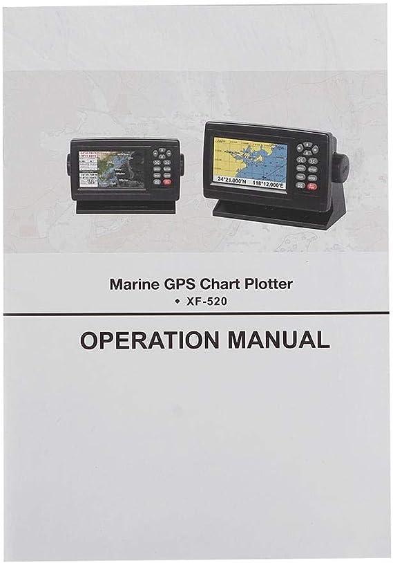 Garmin Striker 5in Marine Satellite GPS Tracker Navigator Velocímetro Pantalla LCD a color XF-520 Posicionamiento en modo dual Plotter de carta de barco: Amazon.es: Coche y moto
