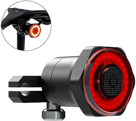 La inducción de freno inteligente bicicletas Luz trasera USB ...