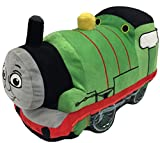 Mattel Thomas and Friends Plush Stuffed Percy Pillow Buddy - Kids Super Soft Polyester Microfiber, 15 inch (Official Mattel Product)