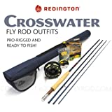 Redington Crosswater 590-4 Fly Rod Outfit (9'0'', 5wt, 4pc)