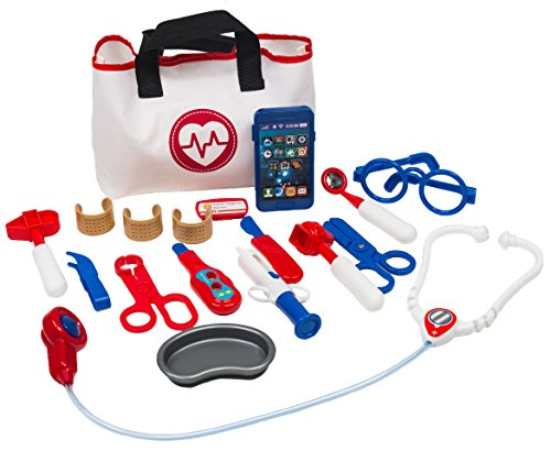 MMP Living Doctor Play Set - 18 pieces, with medical bag