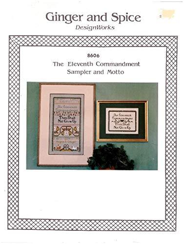 The Eleventh Commandment Sampler and Motto