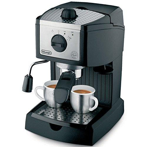 De'Longhi EC155 15 BAR Pump Espresso and Cappuccino Maker Book Cover