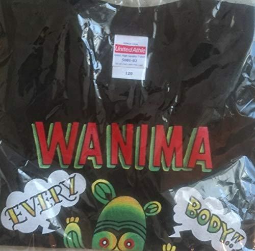 WANIMA エビバデツアー Tシャツ 120 キッズ 子供の商品画像
