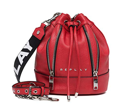 Fw3802 a0362 Red De Hombro Rojo blood Replay Shoppers Mujer 000 Y Bolsos d1TBKZCwq