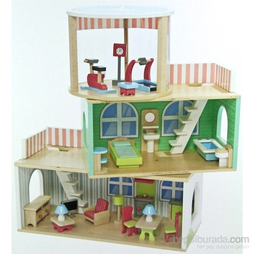 Serra Baby Educational Wooden Baby House 3 STOREY Accessories by Serra Baby