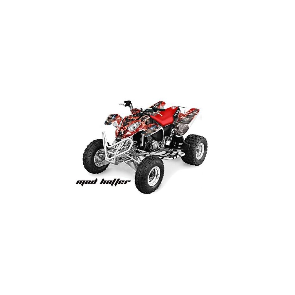 AMR Racing Polaris Predator 500 2002 2011 ATV Quad Graphic Kit   Mad Hatter