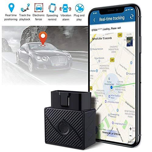 XuBa OBD II GPS rastreador de vehí culo en Tiempo Real Dispositivo de Seguimiento para Coche camió n localizador